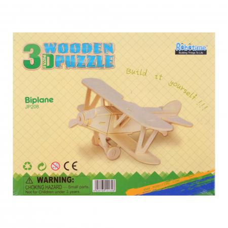 Puzzle 3D Biplane [2]