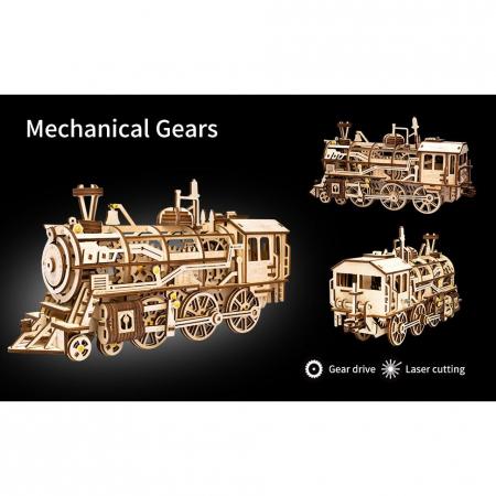 Puzzle 3D Locomotive [2]