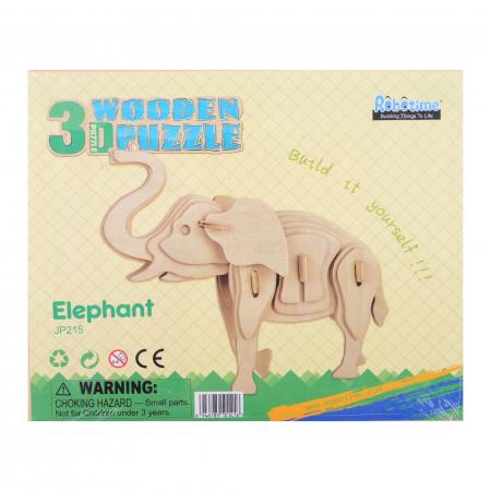 Puzzle 3D Elephant [2]