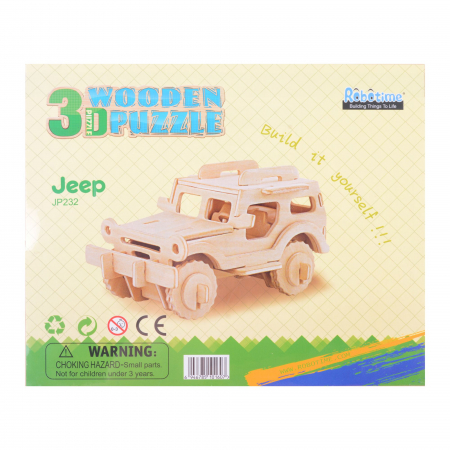 Puzzle 3D Jeep [2]