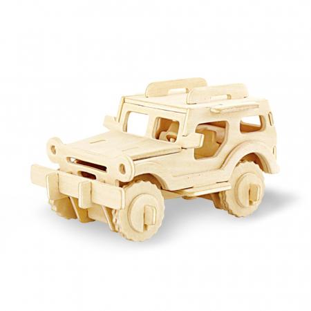 Puzzle 3D Jeep [0]