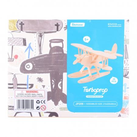 Puzzle 3D Turboprop [1]