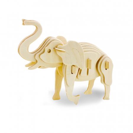 Puzzle 3D Elephant [0]