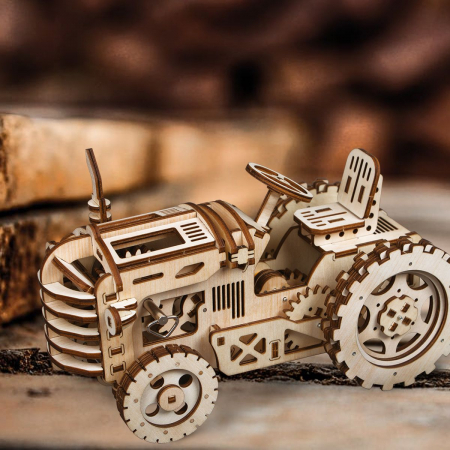 Puzzle 3D Tractor [4]