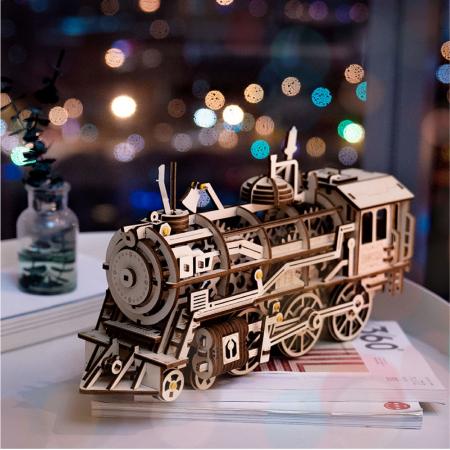 Puzzle 3D Locomotive [4]