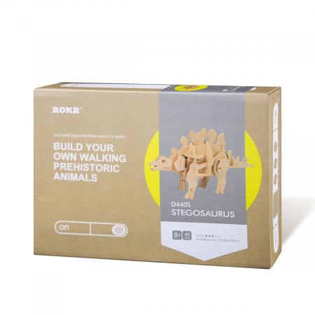 Puzzle 3D Stegosaurus [3]