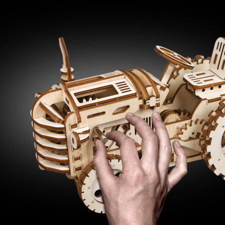 Puzzle 3D Tractor [3]