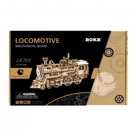 Puzzle 3D Locomotive [3]