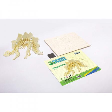 Puzzle 3D Stegosaurus [1]