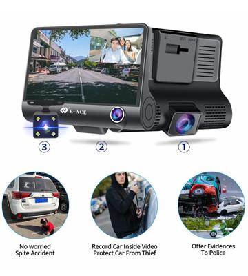 Camera Video Auto Tripla DVR