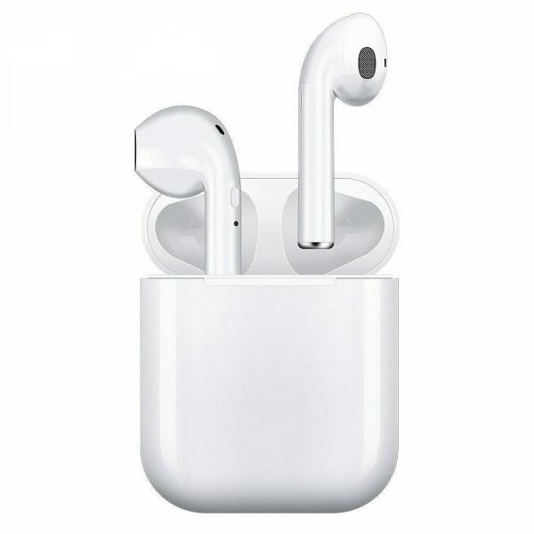 Casti True Wireless TWS i9S Bluetooth 5.0 White [0]