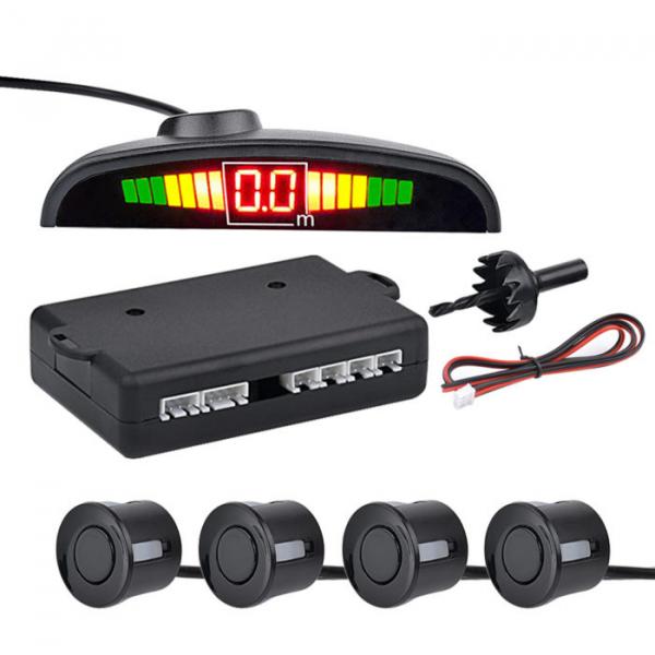 Senzori parcare cu display LED,negru [0]