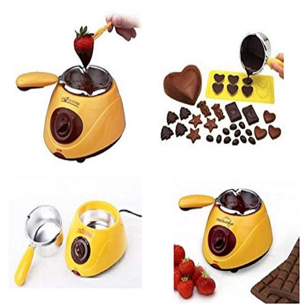 Aparat pentru topit ciocolata si set fondue Chocolatiere [0]