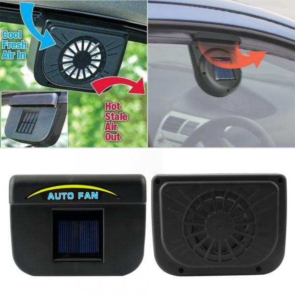 Ventilator solar pentru masina [0]