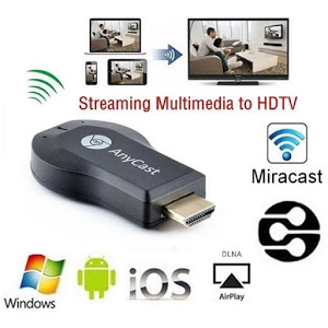 Accesoriu multimedia, redare pe TV, Bluetooth, Anycast M2 Plus, Streaming player HDMi, Cortex 1.2 Ghz DDR3, DLNA, Airplay [3]