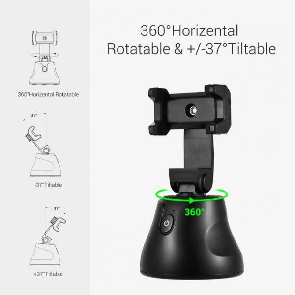 Suport selfie pentru telefon, urmarire automata inteligenta si rotire la 360 [3]