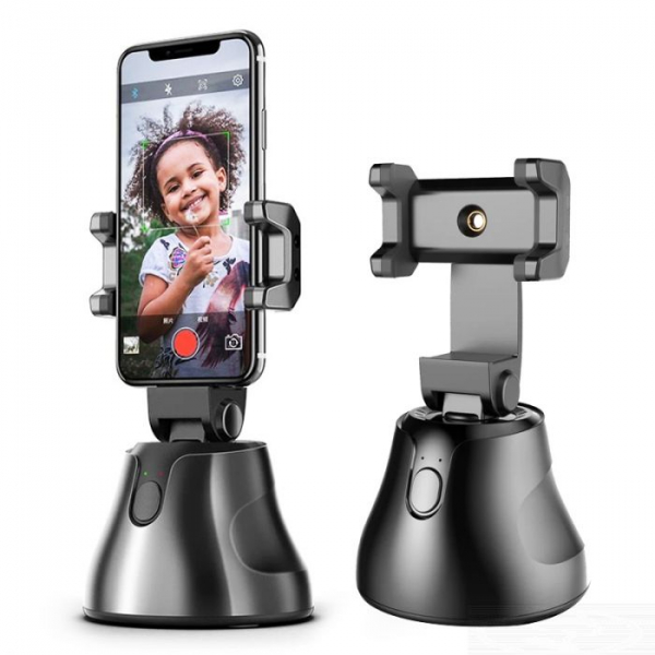 Suport selfie pentru telefon, urmarire automata inteligenta si rotire la 360 [0]