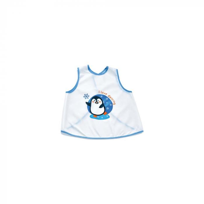 Baveta pentru copii BabyJem Pinguin Blue [0]