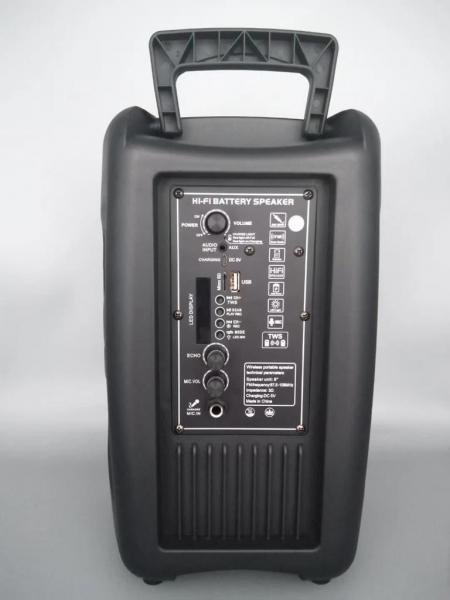 Boxa Activa Portabila 150 W , 8 Inch USB, Radio, Bluetooth,Telecomandă,Albastru [3]
