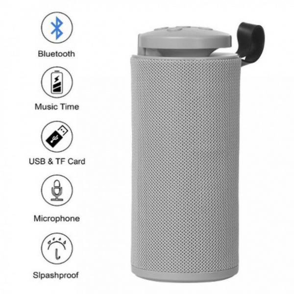 Boxa portabila Bluetooth GT 112 Gri [1]