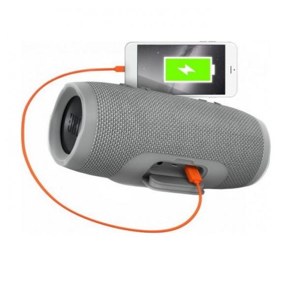 Boxa Portabila Charge 3 Gri , 20W, USB, Waterproof, Bluetooth [1]