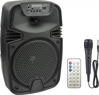 Boxa portabila ZQS 6108, 30W P.M.P.O., telecomanda, microfon [0]