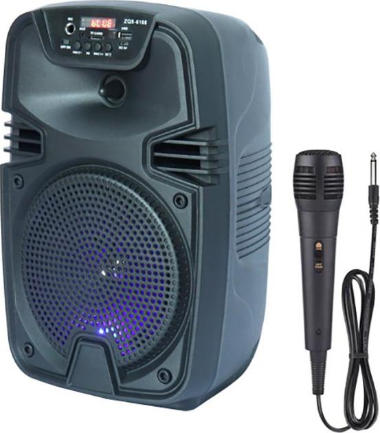 Boxa portabila ZQS 6108, 30W P.M.P.O., telecomanda, microfon [1]