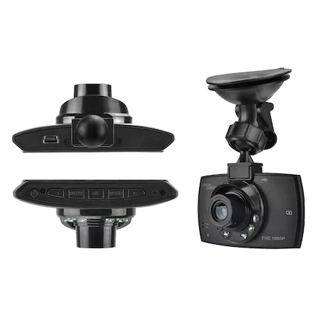 "Camera auto HD DVR Camcorder, 2.7"" inch, Night Vision, Negru [3]"