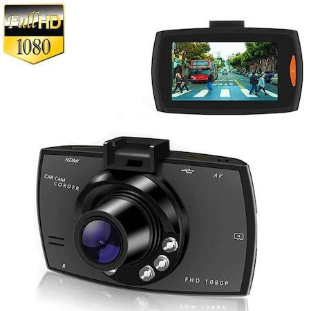 "Camera auto HD DVR Camcorder, 2.7"" inch, Night Vision, Negru [1]"