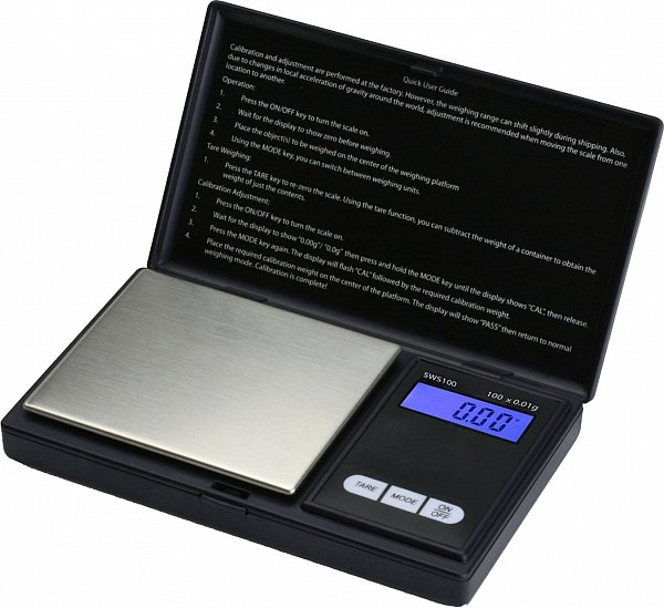 Mini cantar digital gramaj de bijuterii, capacitate 500 g, diviziune 0.01g [1]