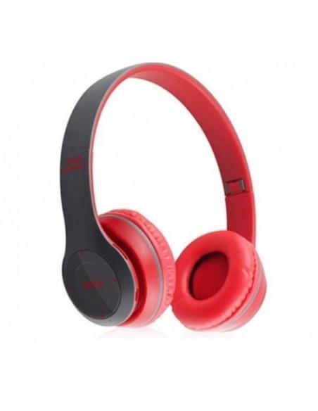 Casti bluetooth cu microfon si radio, pliabile, TF Card/FM Stereo Radio/MP3 Player/Wireless P47 [2]