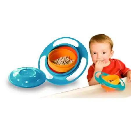 Castron pentru copii cu sistem antirasturnare Gyro Bowl [0]