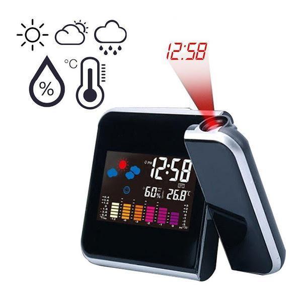 Ceas cu proiectie DS-8190, LCD, alarma [1]