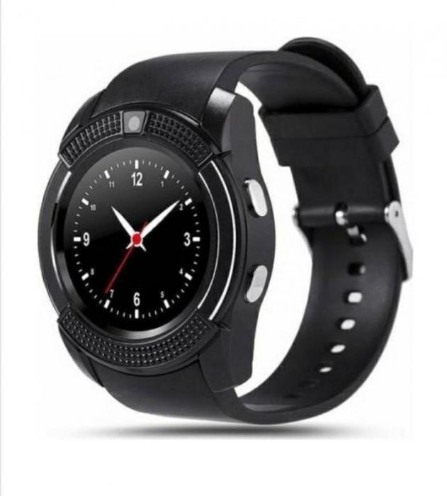 Ceas inteligent Smartwatch T-Smart V8, camera 2 mpx, display 1.3 HD Negru [0]