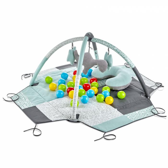 Centru de joaca cu bile BabyJem Verde [0]