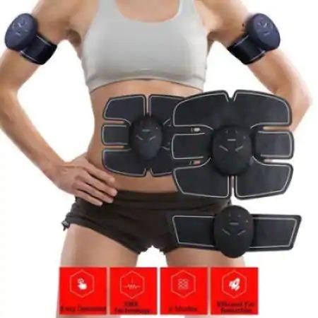 Centura electrostimulare EMS 3 piese abdomen,maini,picioare CRISTIANO RONALDO Smart Fitness [3]