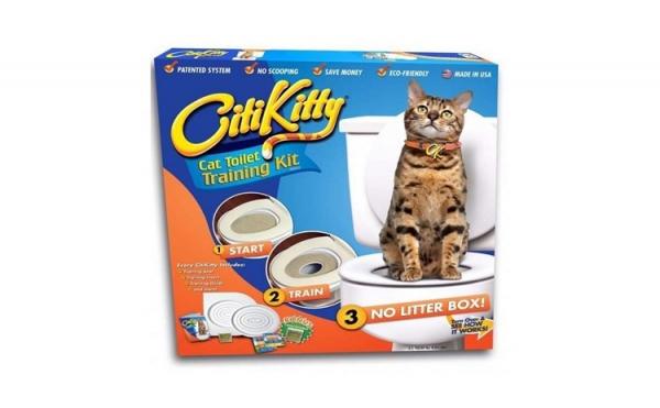 Twitter E-mail Citi Kitty - kit pentru educarea pisicilor la toaleta [1]