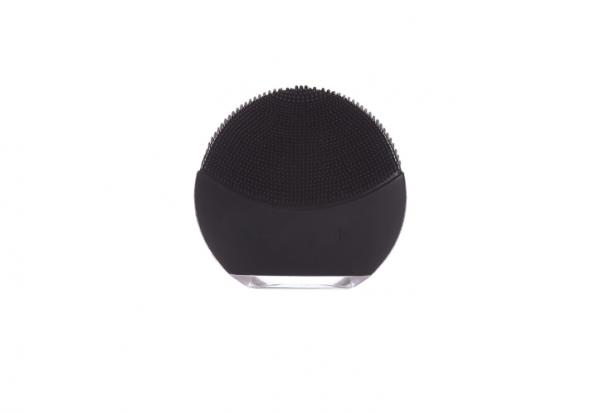 Dispozitiv curatare faciala si masaj Forever, mini, baterie reincarcabila, hipoalergenic Black [0]