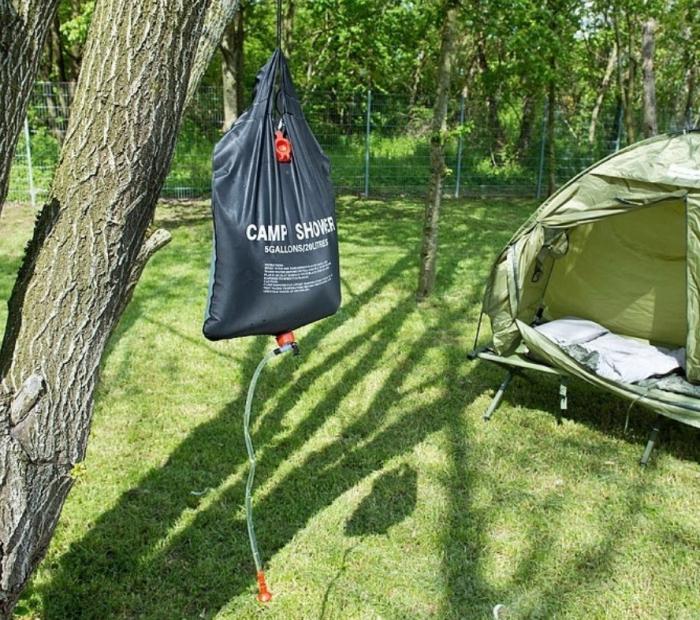 Dus solar pentru camping, PVC, reglabil, 20 litri [2]