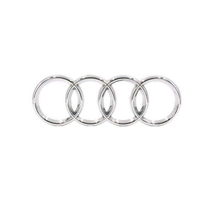 Emblema capota pentru Audi, 27cm x 9,5cm, universala [0]