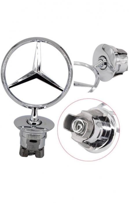 Emblema Crosshair Mercedes Star [0]