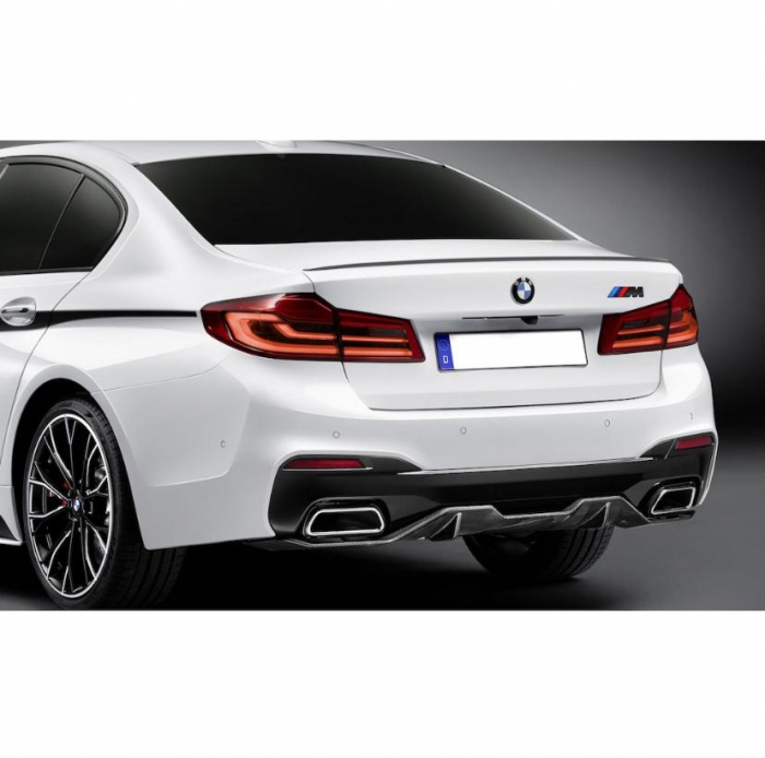 Emblema M power spate portbagaj BMW, culoare negru matt [1]