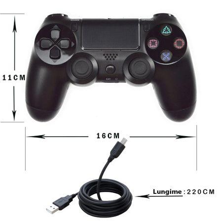 Gamepad Cu Fir DOUBLESHOCK 4 Pentru Playstation 4 Cu Vibratii [1]