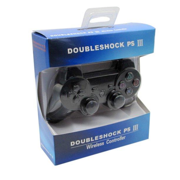 Gamepad PS3, doubleshock, negru [0]
