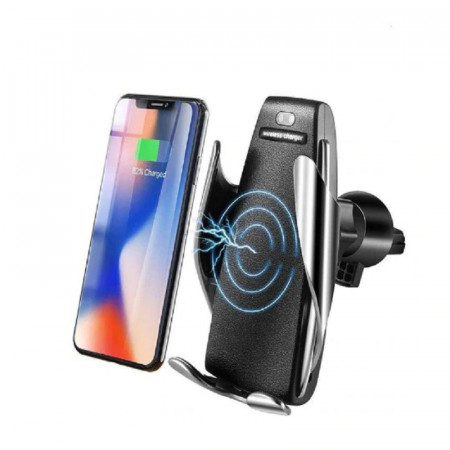 Incarcator auto Wireless cu senzor inteligent si Fast Charger [0]