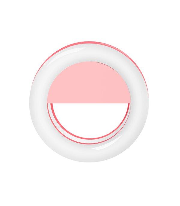 Inel luminos pentru selfie Accesoriu LED tip clips pentru telefon [3]