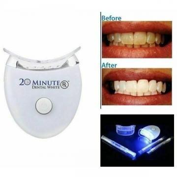 Kit pentru albirea dintilor,Dental white, tehnologie cu lumina [1]