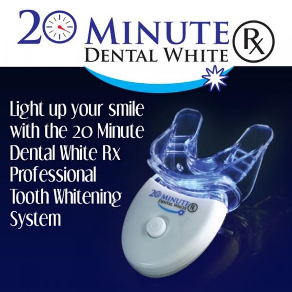 Kit pentru albirea dintilor,Dental white, tehnologie cu lumina [3]
