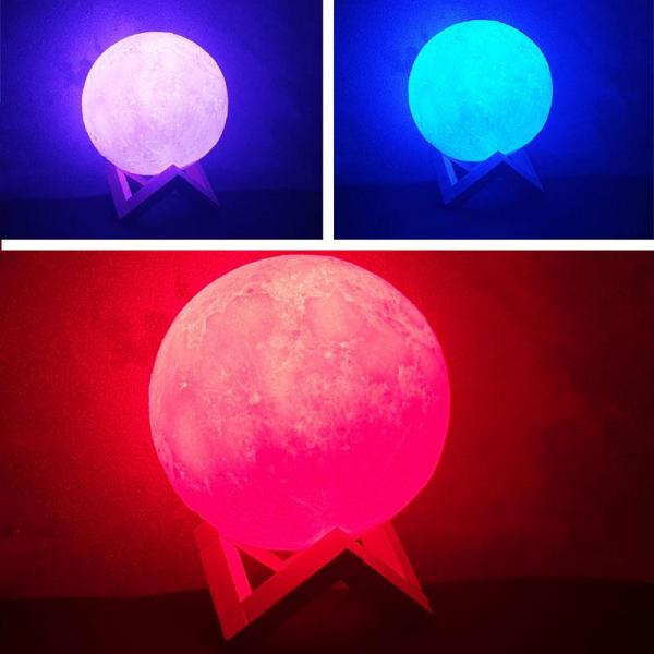 Lampa de veghe Luna Moon 3D [1]