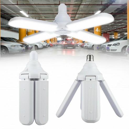 Lampa LED cu 4 brate mobile ajustabile tip ventilator 60w 6000k [0]